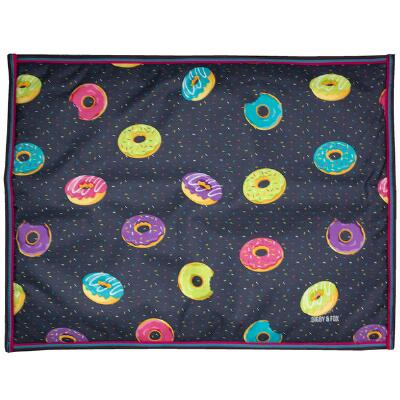 Shires Digby & Fox Waterproof Dog Bed - Donut Print