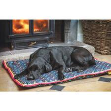 Shires Digby and Fox Waterproof Dog Bed - Dog House Print - TB