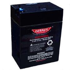 Parmak 6 Volt Solar Electric Fence Charger Battery - TB