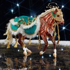 Breyer Minstrel - 2019 Holiday Horse - TB