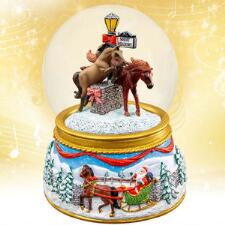 Breyer Merry Meadows - 2019 Musical Snow Globe - TB