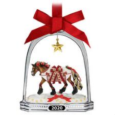 Breyer Holiday Yuletide Greetings 2020 Stirrup Ornament - TB