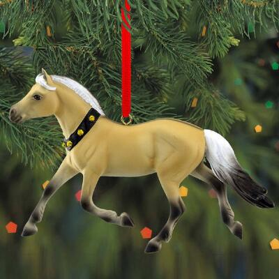 Breyer Fjord - 2019 Beautiful Breeds Ornament