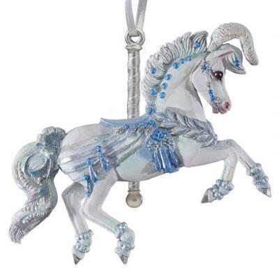 Breyer Holiday 2018 Winter Whimsy - Carousel Ornament
