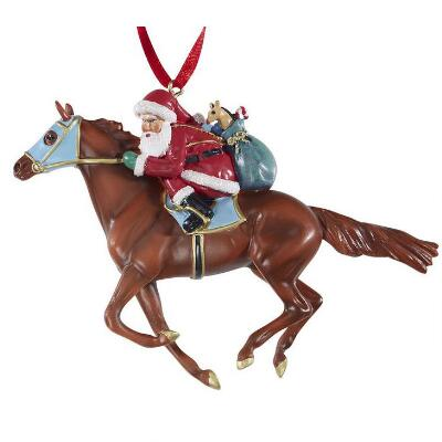 Breyer Holiday 2018 Off to the Races! Ornament