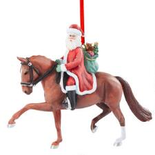 Breyer Holiday 2020 Dressage Santa Ornament - TB