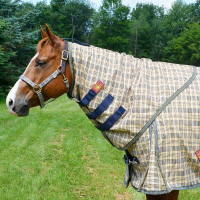 5/A Baker Nylon Lined Neck Cover for Turnout