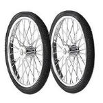 Horsemens Pride Feed Cart Wheels - Pair - TB