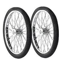 Feed Cart Wheels - Pair - TB