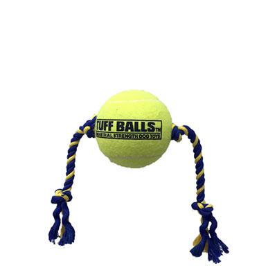 Dog Toy Mega Tuff Ball Tug 6inch