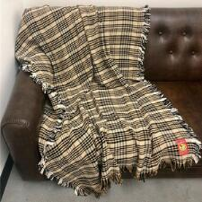 5/A Baker Plaid Afghan 50in x 70in - TB