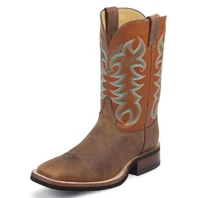 AQHA Series Copper Calgary Mens Western Boot