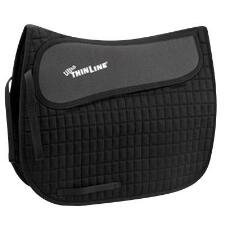 Thinline Square Cotton Shimmable Dressage Pad - TB