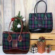 5/A Baker Limited Edition Tartan Plaid Taylor Tote - TB
