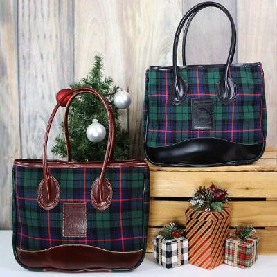 5/A Baker Limited Edition Tartan Plaid Taylor Tote
