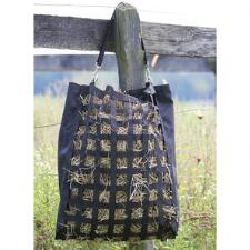 Hay Bag Slow Feed Black