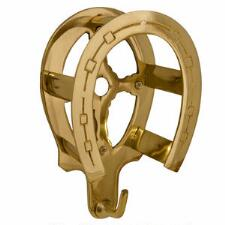 Brass Horseshoe Bridle Bracket - TB
