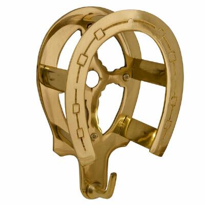 Brass Horseshoe Bridle Bracket