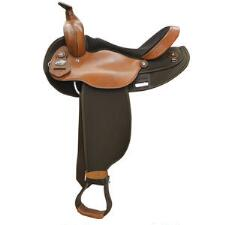 Fabtron Round Barrel Skirt Basic Western Trail Saddle - TB