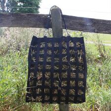 Hay Bag Slow Feed Black - TB