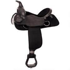 Fabtron Rough Out Western Trail Saddle - TB