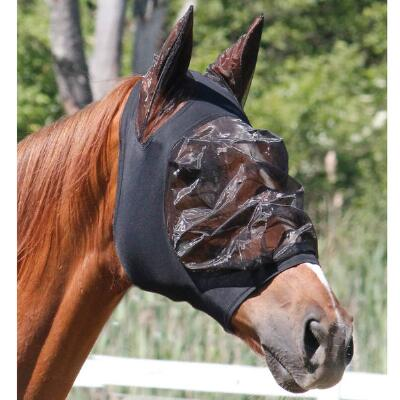 Lycra Fly Mask With Ears And Zipper