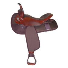 Fabtron Big Un Western Trail Saddle - TB
