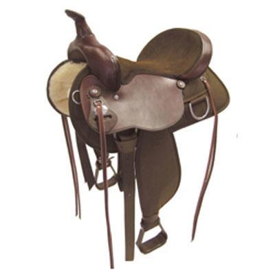 Lady Trail Western Trail Saddle 16 Inch