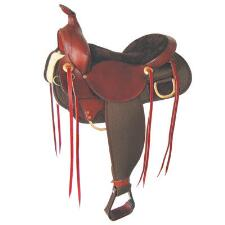 Easy Rider Balanced Ride Western Trail Saddle