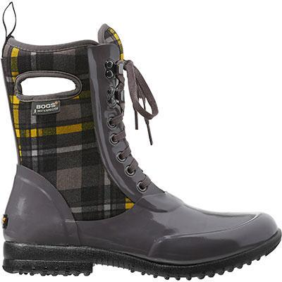Bogs Sidney Lace Plaid Insulated Ladies Winter Boot