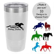 Insulated 20oz Travel Mug with Custom Decal - TB
