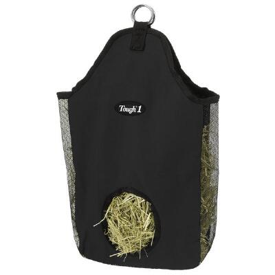 Tough 1 Canvas Hay Bag Miniature Size Black