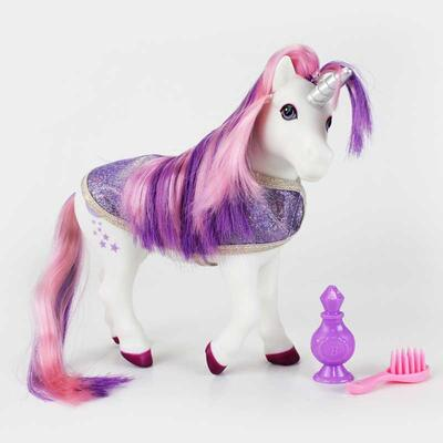 Breyer Pony Gals Luna Bath Time Unicorn