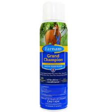 Farnam Grand Champion Fly Repellent Plus Coat Conditioner 15 oz Non-Aerosol Spray - TB