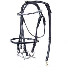 Walsh Open Bridle Leather European Style - TB