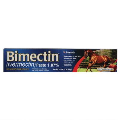 Bimectin 1.87% Single Dose Paste Dewormer