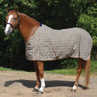 Classic Traditional Plaid Stable Sheet