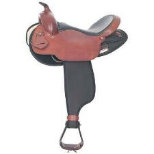 Arabian Trail Saddle 16 Inch Brown