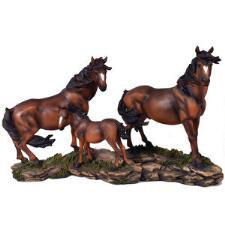 Horse Family Statue - TB