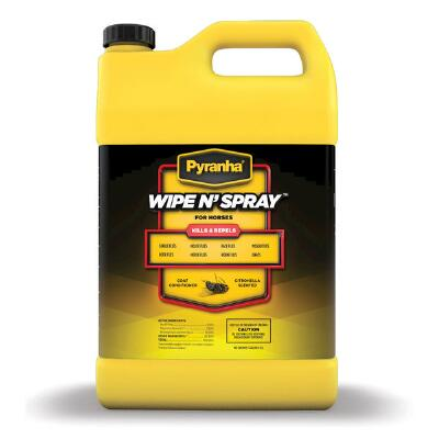 Pyranha Wipe N Spray  Gallon Oil Based