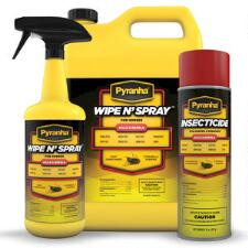 Pyranha Wipe N Spray Fly Protection  - TB