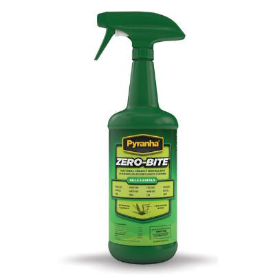 Pyranha Zero Bite Natural Fly Spray 32 oz