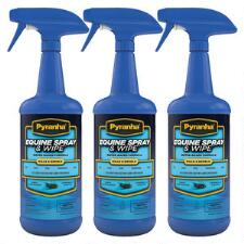Pyranha Equine Spray and Wipe Insect Repellent 32 oz Spray 3 Pack Special - TB