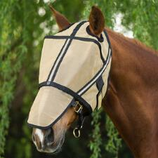Noble Equestrian Guardsman Fly Mask - No Ears - TB