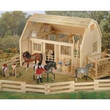 Breyer Traditional Wood Corral - TB