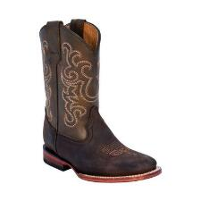 Ferrini Maverick Chocolate Kids Western Boot - TB