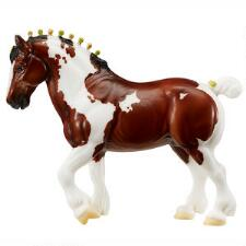 Breyer Traditional Flagship Exclusive Seamus Spotted Draft - TB
