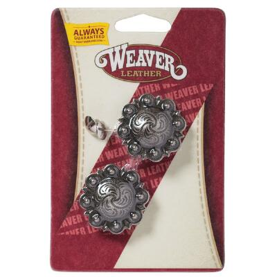 Weaver Antique Silver Berry Concho Set