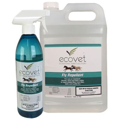 EcoVet Fly Spray Repellent-Insecticide 18 oz