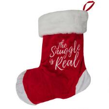Snugarooz Hide and Squeak Dog Stocking with Rubber Ball - TB